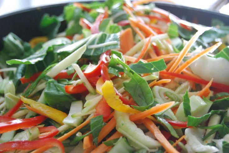Receitas Ecológicas - Padthai - Salada Tailandesa - Comida Ecológica