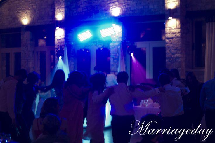 φωτιστική κάλυψη δεξιώσεων από την Marriageday