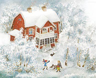 Ilon Wikland - Her amazing work illustrates Astrid Lindgren's books.