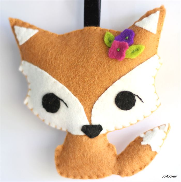 Cute Fox Bag Tag by Joyfoolery