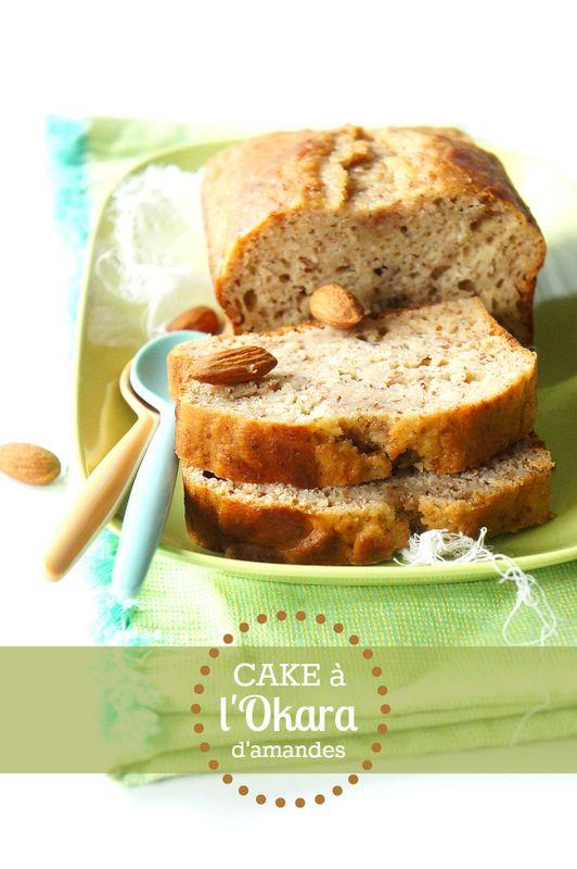 Un petit cake pour dépoussiérer le blog ça vous tente ? Je suis sûr que l'Okara vient titiller votre curiosité …… 🙂 Alors, qu'en est-il de cet ingrédient mystérieux ? Il s'agit en fait d'un aliment que nous connaissons bien, mais qui a été, pour ainsi dire, transformé : l'amande …. Je ne sais pas si vous avez déjà essayé de faire du lait d'amande maison (edito : la recette est désormais disponible -clic-). On mixe des amandes dans de l'eau, on filtre et on obient le fameux lait d'amande…