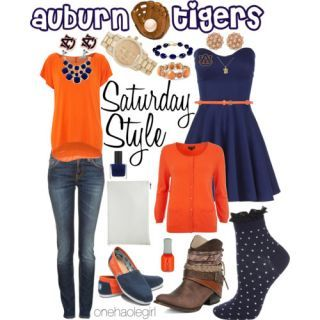 Saturday Style Baseball Edition: Auburn Tigers & Brock University Badgers