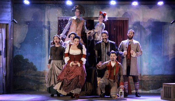 """We are glad to welcome to our hotel Alianthos Garden, the team of the Greek National Opera, which will present the spectacular show """"The Barber of Seville"""" at the Primary School of Plakias on 7 November 2014.  www,alianthos.gr - info@alianthos.gr"""