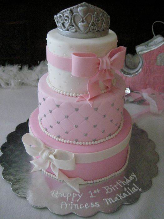 Princess Birthday CakePrincesses Birthday, Birthday Parties, Princesses Cake, Cake Ideas, Pink Princess, Princess Cakes, 1St Birthday Cake, Birthday Cakes, Birthday Ideas