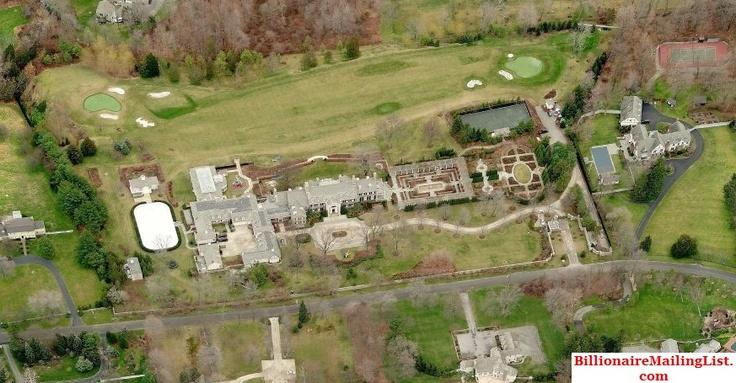 Mega Mansion of Billionaire Steven A Cohen in Greenwich, CT