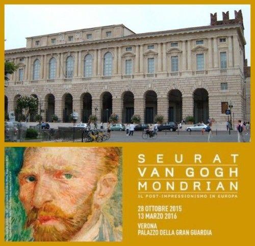 Seurat, Van Gogh e Mondrian portano a Verona il Post-Impressionismo europeo dal 28 ottobre 2015 al 13 marzo 2016 @gardaconcierge