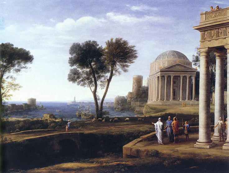 Claude Lorrain, Aeneas at Delos