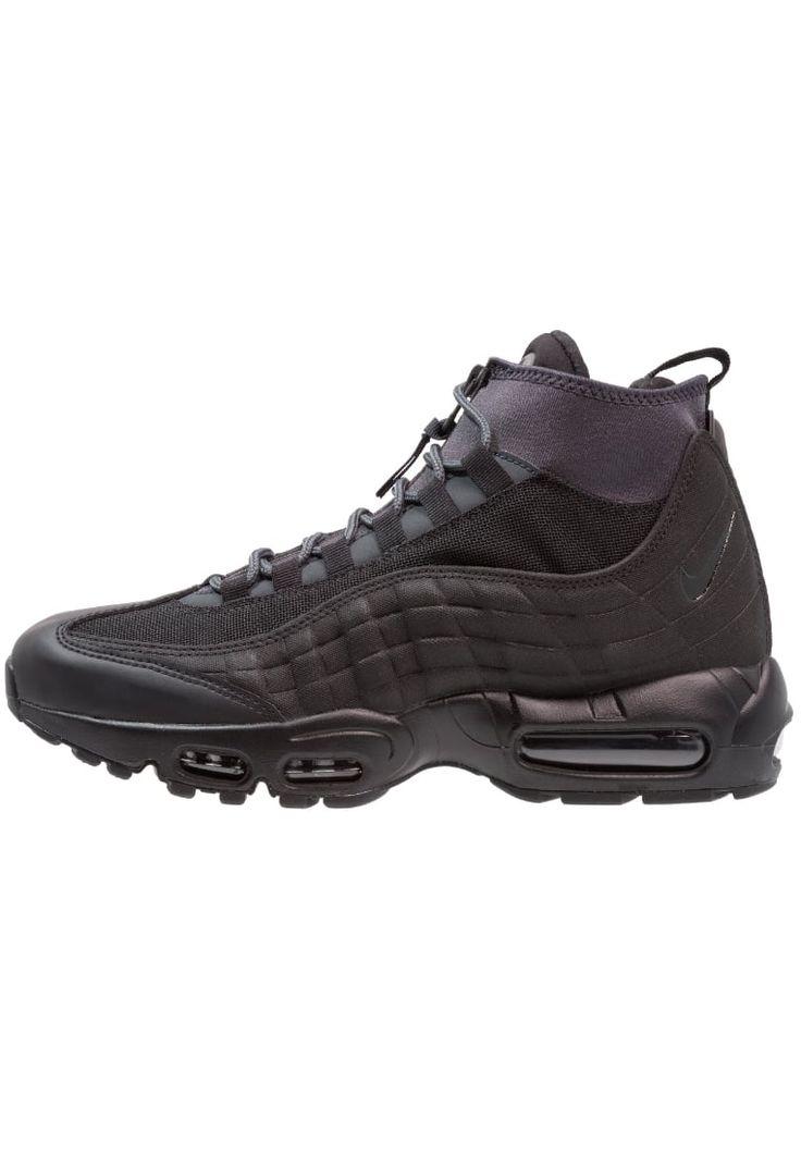 ¡Consigue este tipo de zapatillas altas de Nike Sportswear ahora! Haz clic para ver los detalles. Envíos gratis a toda España. Nike Sportswear AIR MAX 95 Zapatillas altas black/anthracite/white: Nike Sportswear AIR MAX 95 Zapatillas altas black/anthracite/white Zapatos   | Material exterior: piel/tejido sintético, Material interior: tela, Suela: fibra sintética, Plantilla: tela | Zapatos ¡Haz tu pedido   y disfruta de gastos de enví-o gratuitos! (zapatillas altas, high, high-tops, high...