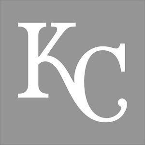 Kansas City Royals #2 MLB Team Logo 1 Color Vinyl Decal Sticker ...