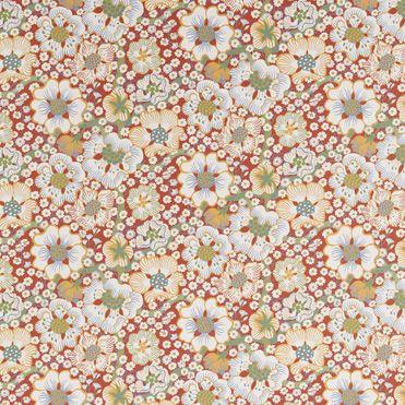 Svenska Ten: Wallpaper Eldblomma Design: Josef Frank Created: 1940s