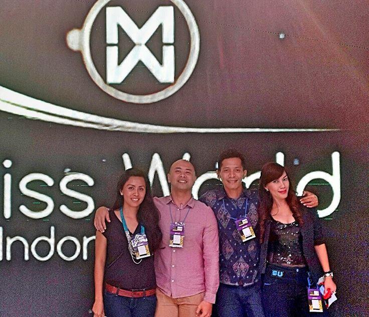 I AM Model Management-Bali team  Official Choreographer for Miss World 2013 Top Model Competition (Westin Resort Hotel-Nusadua  Bali)