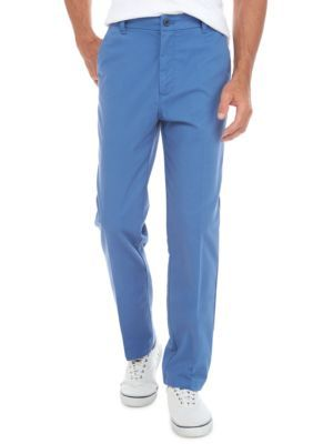 Izod Men's Performance Stretch Fashion Pants - Federal Blue - 36 X 34