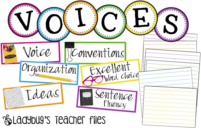 Ladybugs Teacher Files: VOICES Headers {free download}