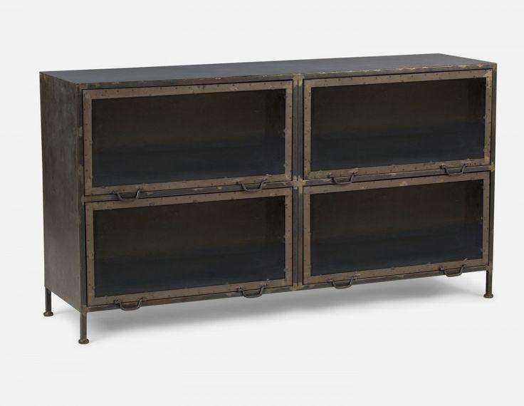 CASEY - 4-door Storage Unit - Natural