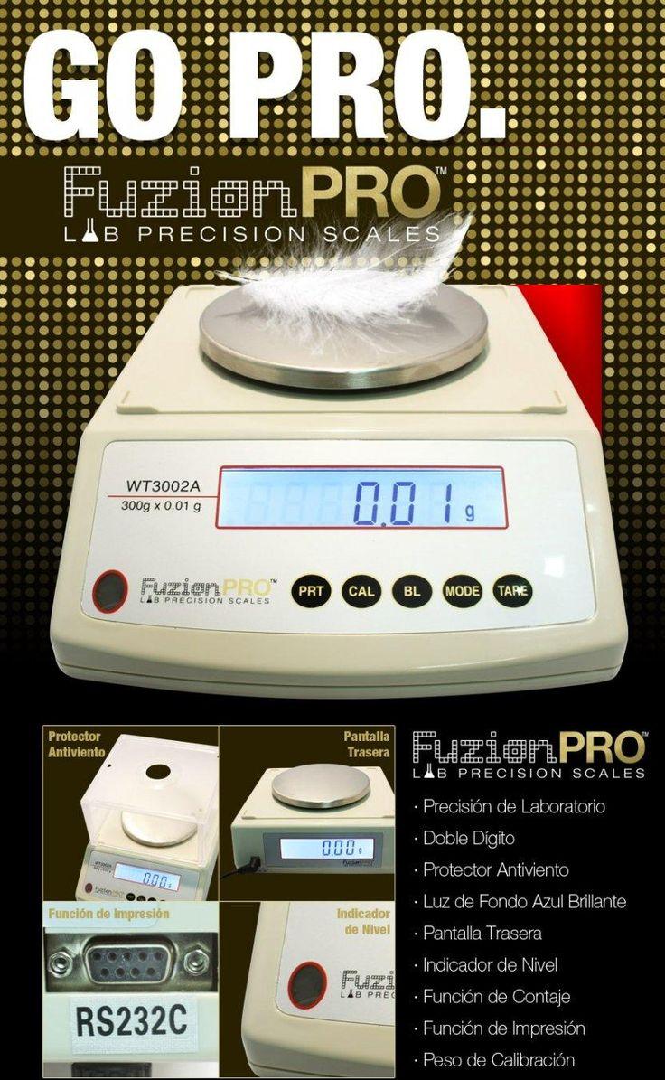 Nueva Báscula Digital Go Pro 300\/0,01 gr.   * Gran Precisión de Laboratorio.