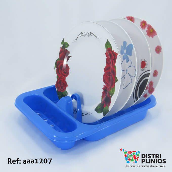 Practico escurridor de plástico, viene en color azul y rosado. Ideal para el hogar. (No incluye vajilla) Los precios de nuestro sitio web son al por mayor, el costo de los productos se incrementa en compras por unidad, cualquier inquietud comuníquese al 320 3083208 o al 3423674 o visítenos en la Calle 12 B # 8a – 03 Centro, Bogotá, Colombia.