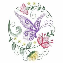 Rippled Butterflies 5, 4 - 3 Sizes! | What's New | Machine Embroidery Designs | SWAKembroidery.com Ace Points Embroidery