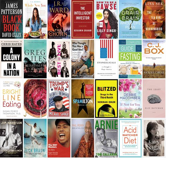 """Saturday, April 8, 2017: The Las Vegas-Clark County Library District has 45 new bestsellers, six new videos, 34 new audiobooks, 11 new music CDs, 268 new children's books, and 700 other new books.   The new titles this week include """"The Black Book,"""" """"Whole New You: How Real Food Transforms Your Life, for a Healthier, More Gorgeous You,"""" and """"The Chosen: A Novel of the Black Dagger Brotherhood."""""""