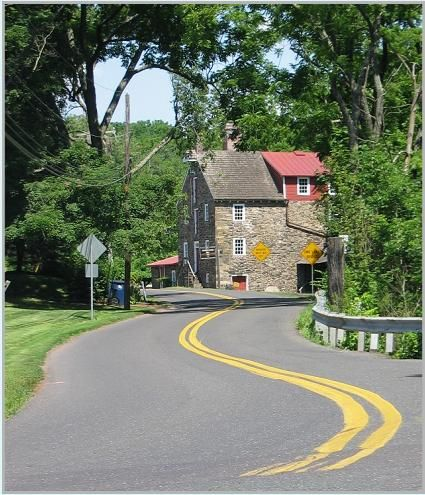 Bucks County Roadside Scenes