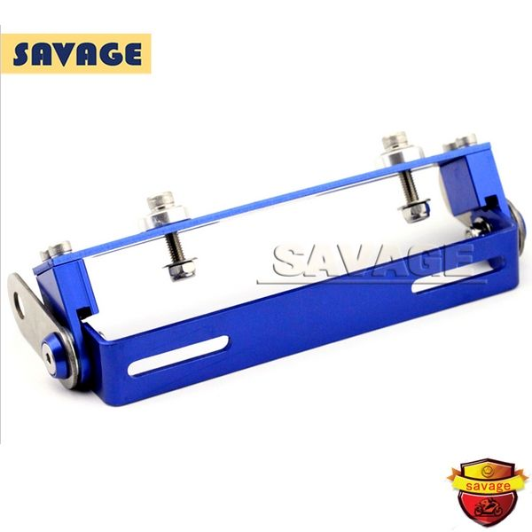 22.99$  Buy here - http://aligh1.shopchina.info/go.php?t=32594292607 - Motorcycle Universal 180 degree Adjustable License Number Plate Holder Mount Bracket Registration Plate Holder Blue 22.99$ #aliexpress