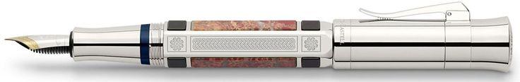 Graf von Faber-Castell Pen of the Year 2014 Catherine Palace Jasper Medium Fountain Pen - Graf von Faber-Castell