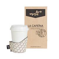 La Cafeina Coffee Cup Holder - Zeus Cream