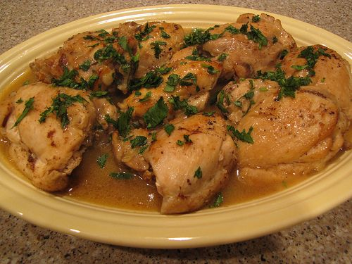 chicken in sherry sauce - was good not great, but not good enough to ...