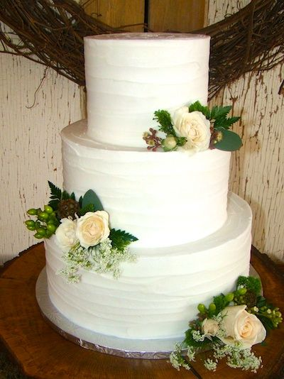 36 best Smooth Buttercream Wedding Cakes images on Pinterest  Cake ball Cup cakes and Cupcake