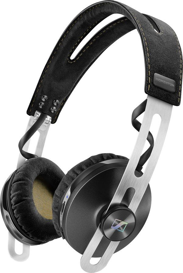 Sennheiser Momentum 2.0 Wireless (Black). Take the Mini Mo 2.0 on the go. Fold the Momentum On-Ear Wireless headphones at the hinges to easily carry them from place to place.