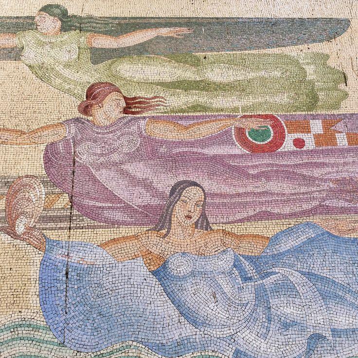 Mosaic at Milano Centrale station #MilanLife