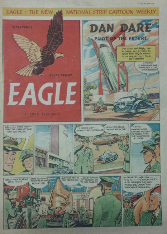 Dan Dare from Eagle Comic #2
