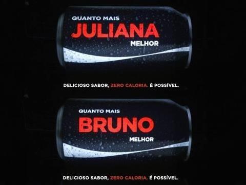 Coca-Cola vai lançar embalagens customizadas com os 150 nomes mais comuns entre jovens adultos