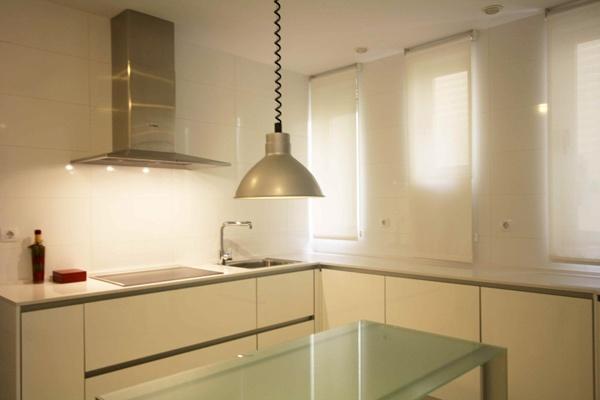 Cocina - Apartamento En Blanco
