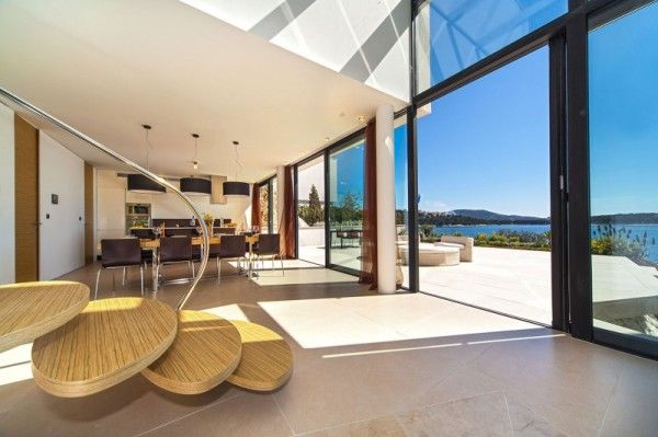Interior Decoration from Luxury Resort Design Overlooking the Beauty Beach in Croatian 600x399 Luxury Resort Design Overlooking the Beauty Beach in Croatian