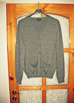 Kup mój przedmiot na #vintedpl http://www.vinted.pl/odziez-meska/zapinane-swetry-kardigany/10328137-szary-sweter-kardigan-zapinany-rozmiar-xl-batistini