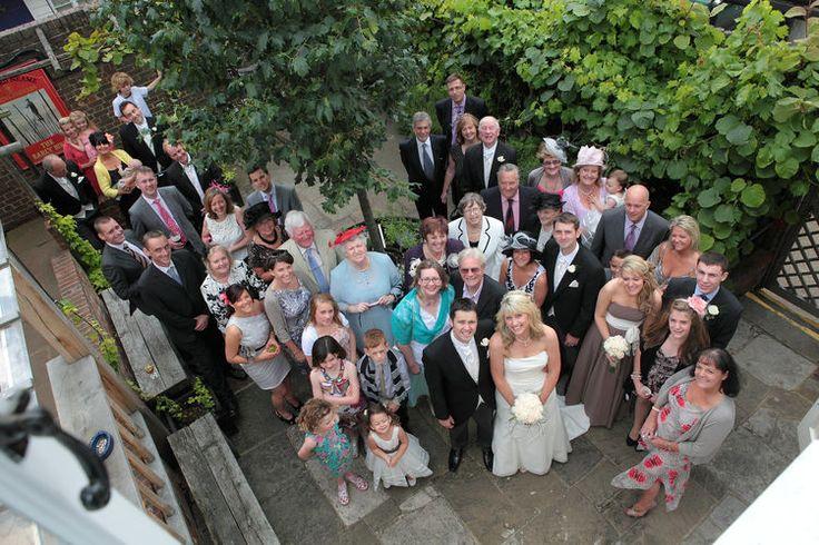 External wedding photography at Shepherd Neame