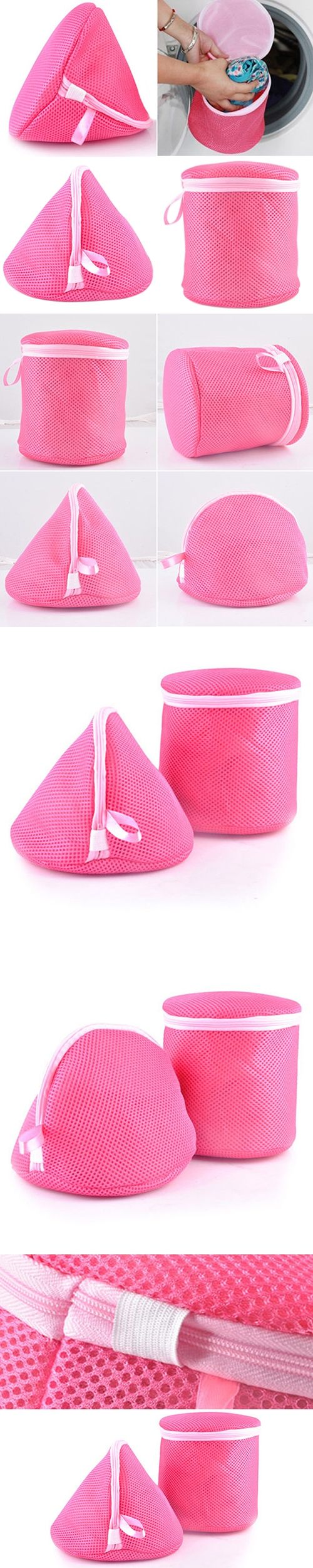 NEW Underwear Aid Bra Laundry Mesh Wash Basket Net Washing Storage Zipper Bag BICI