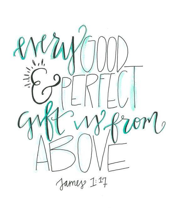 james 1:17 nursery art                                                                                                                                                     More