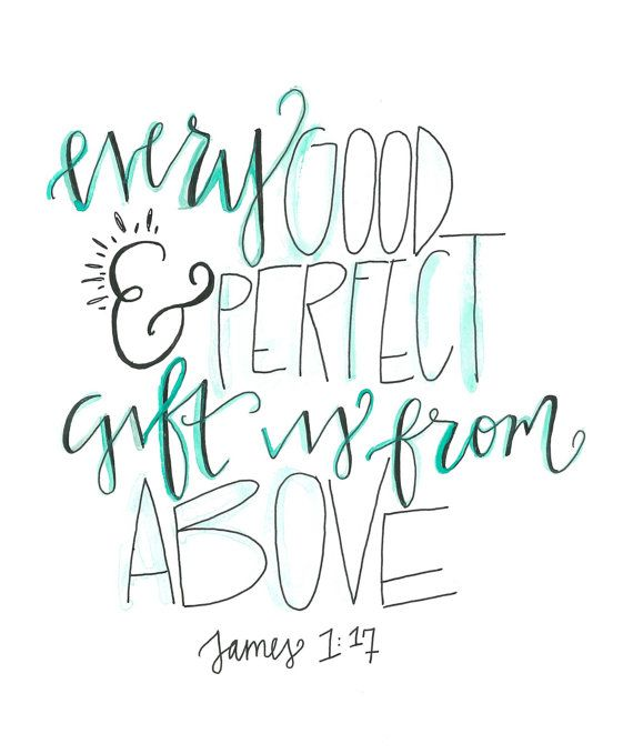 james 1:17 nursery art