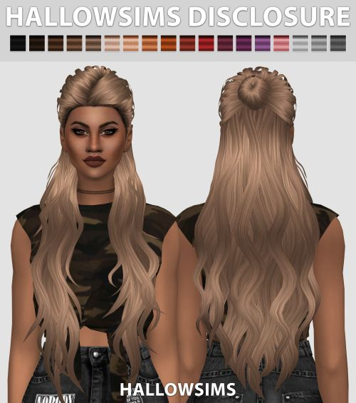 My name is Nano, I make CC for the SIMS 4, most of the times inspired by celebrities! [Custom...