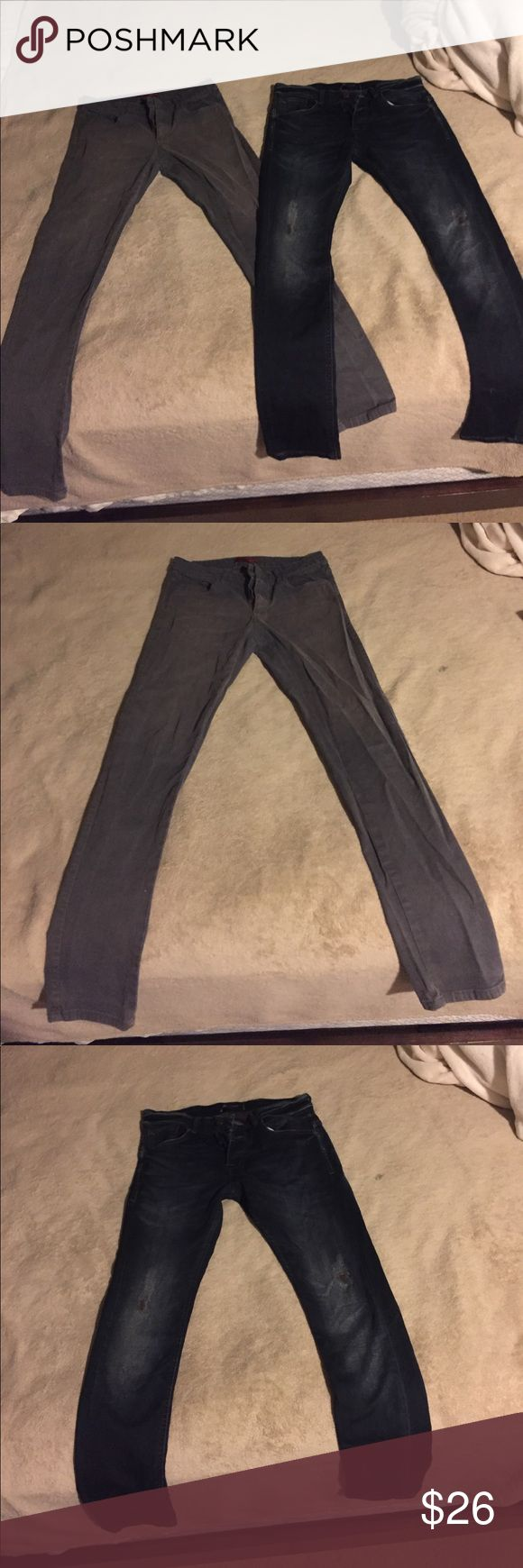 Two Zara Man Jeans Both 30/30 and from Zara Man. Jeans will be sold TOGETHER❗️❗️ Both are in great condition Zara Jeans Slim