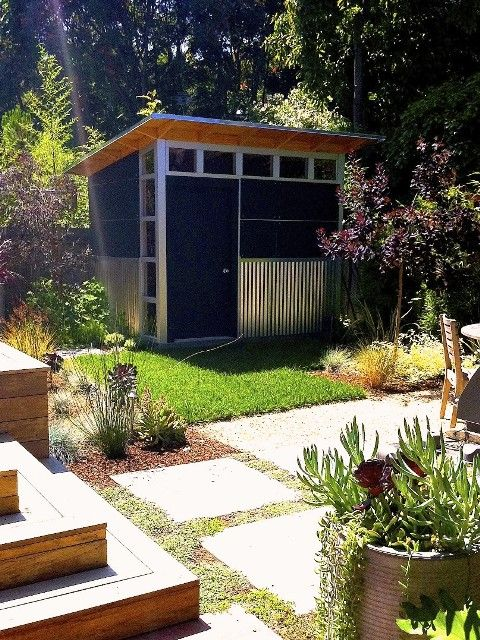 115 best SHED images on Pinterest Backyard office Sheds and