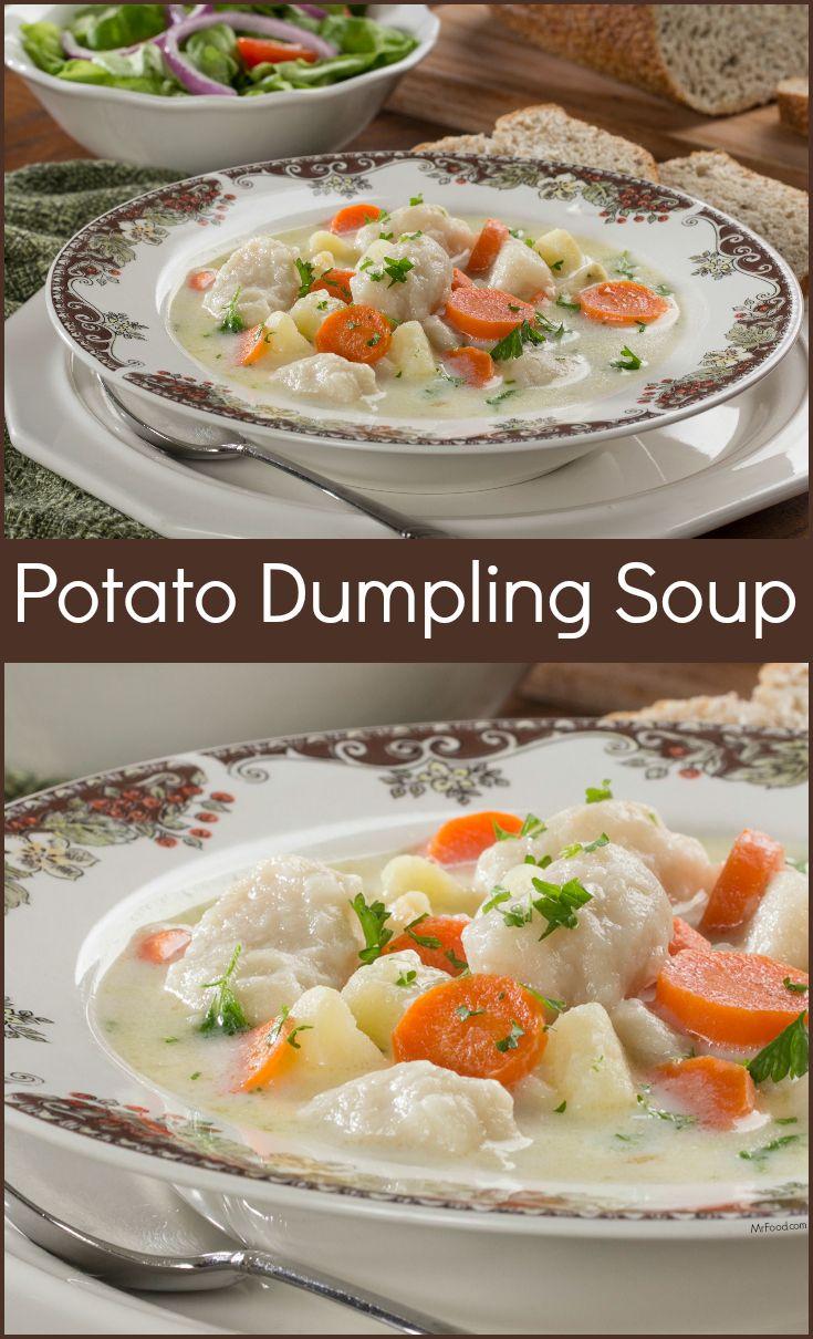 Potato soup dumplings recipes easy
