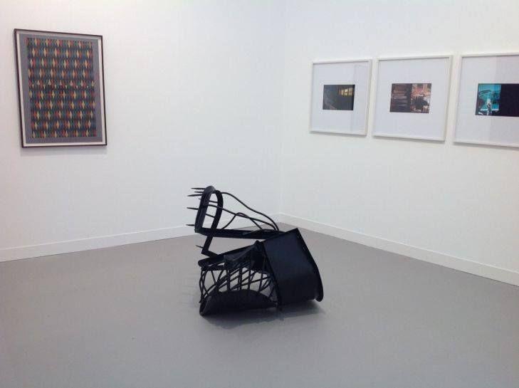 Monika Sosnowska, Galerie Gisela Capitain at Frieze London, October 2014, photo Contemporary Lynx, Frieze Art Fair 2014: http://contemporarylynx.co.uk/archives/4840