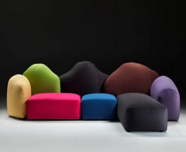 High Quality Sofas Meritalia Colorado Gaetano Pesce1 Design Ideas