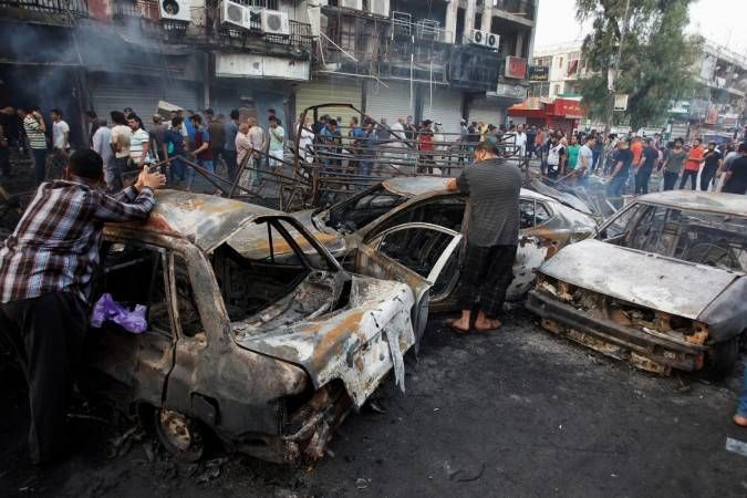 In Iraq, at least 20 killed in attacks claimed by ISIS In Iraq, at least 20 killed in attacks claimed by ISIS:- In Iraq, the Islamic State has claimed responsibility for multiple suicide attacks that killed at least 20 people on Sunday. In Samarra, 60 miles north of Baghdad and home to a major Shiite …