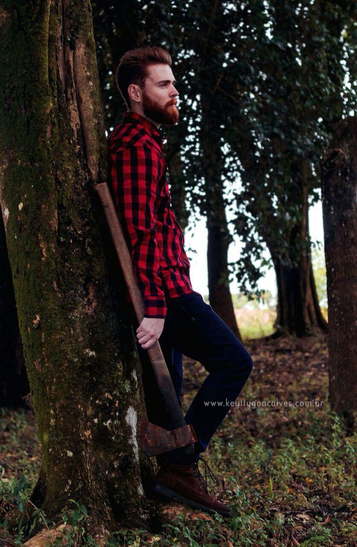 #lumbersexual #lumberjack #barba #beard
