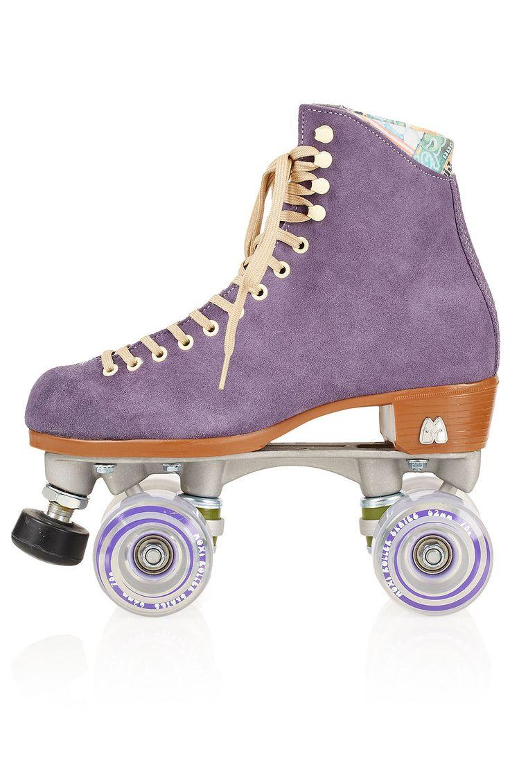 Roller skating rink lafayette in - Moxi Purple Roller Skates 210 00gbp At Topshop