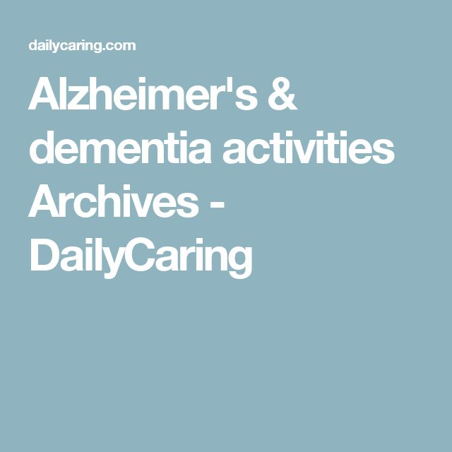 activities for dementia patients pdf