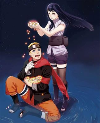 There's so much love in this picture!! Naruto and Hinata! My ultimate OTP